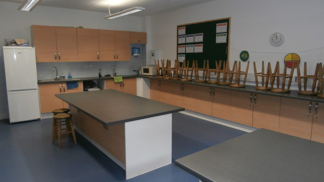 The Food Science room at Deptford Lounge.