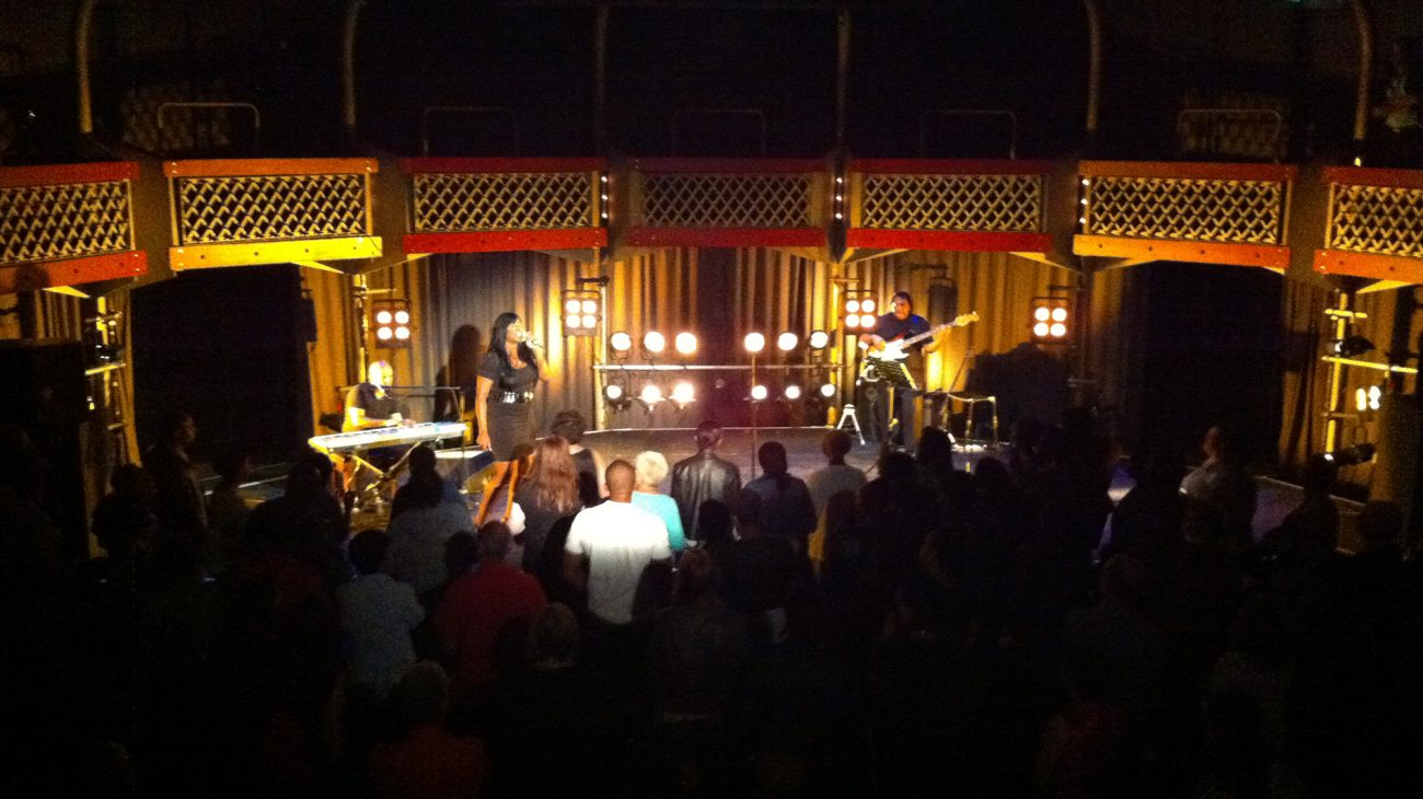 Mica Paris performs at the Albany in June 2012.