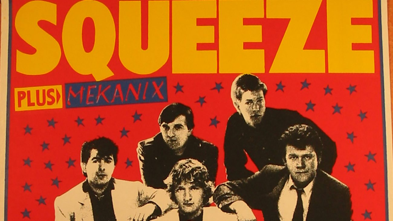 The Squeeze at the Albany Empire poster.