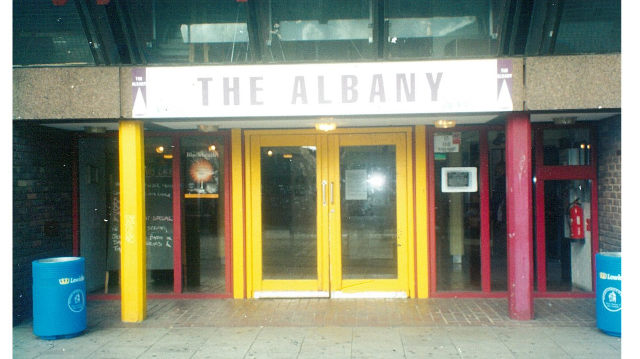 Some old shots of the Albany buildings and community we couldn't resist sharing.