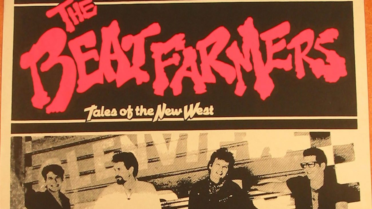 The Beartfarmers at the Albany Empire poster.