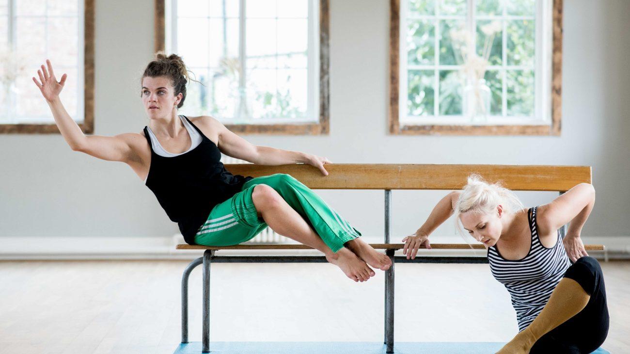 Candoco Dance Company: Caroline Bowditch's Dedicated to... Photo by Camilla Greenwell