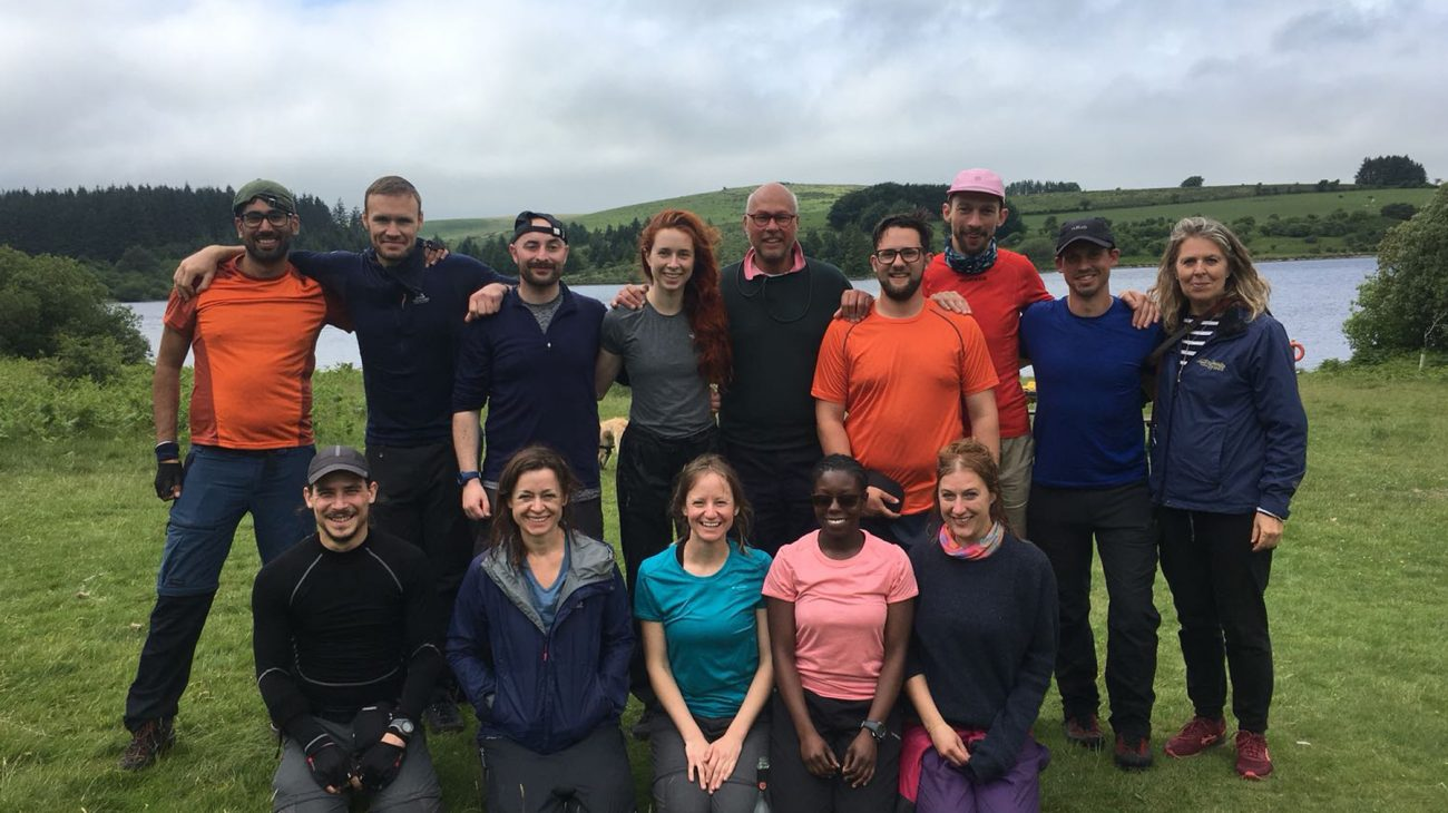 A film about when 10 brave Albany staff trekked 32 miles across Dartmoor to raise funds.