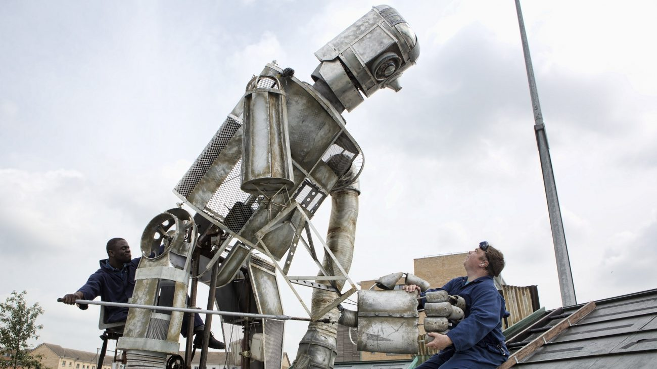 Graeae's The Iron Man. Photo by Alison Baskerville