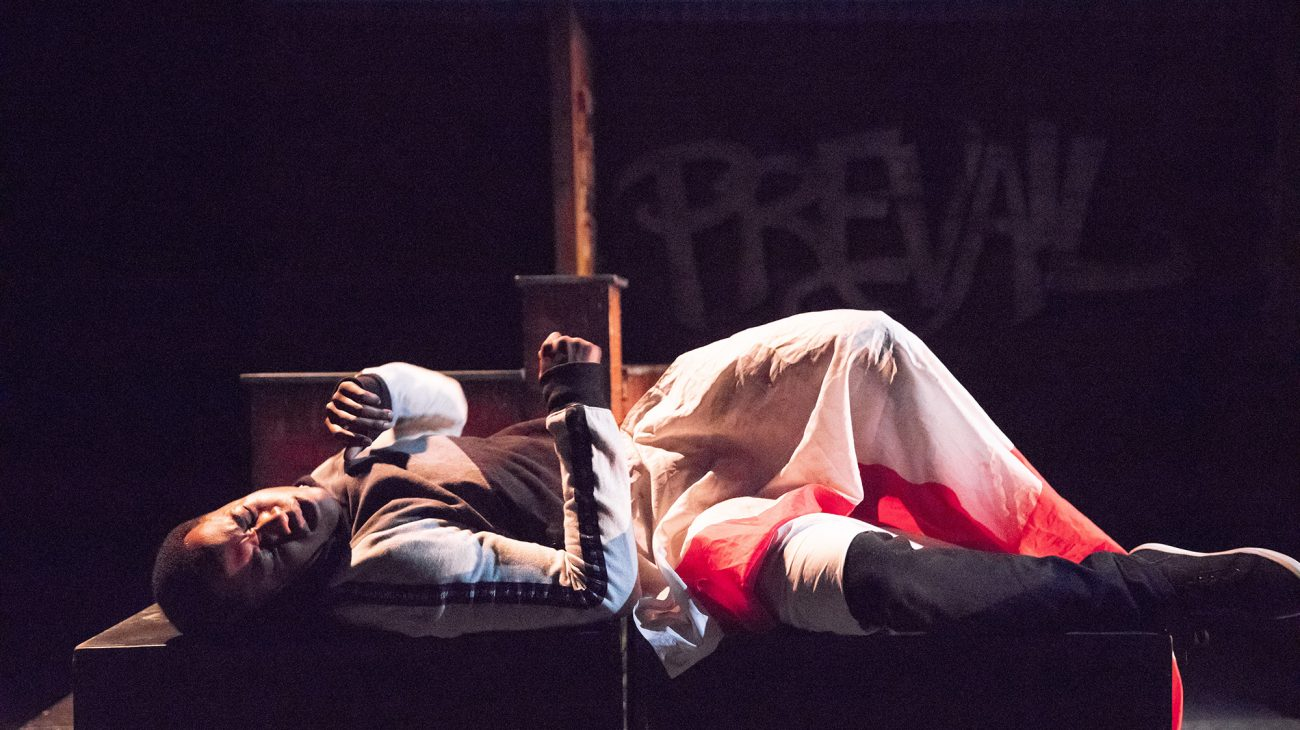 Production image from Castaways. Photo by David Fisher.