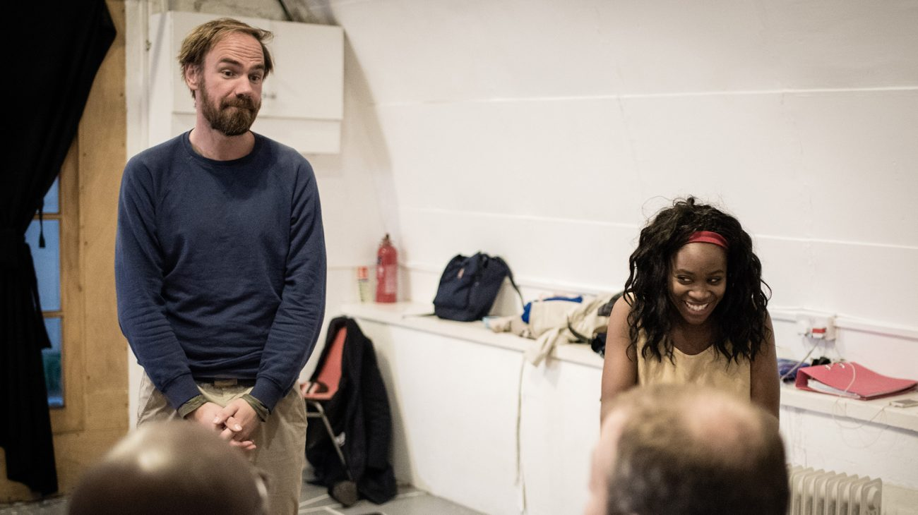 The Incident rehearsal shot. Photography by Joe Twigg.