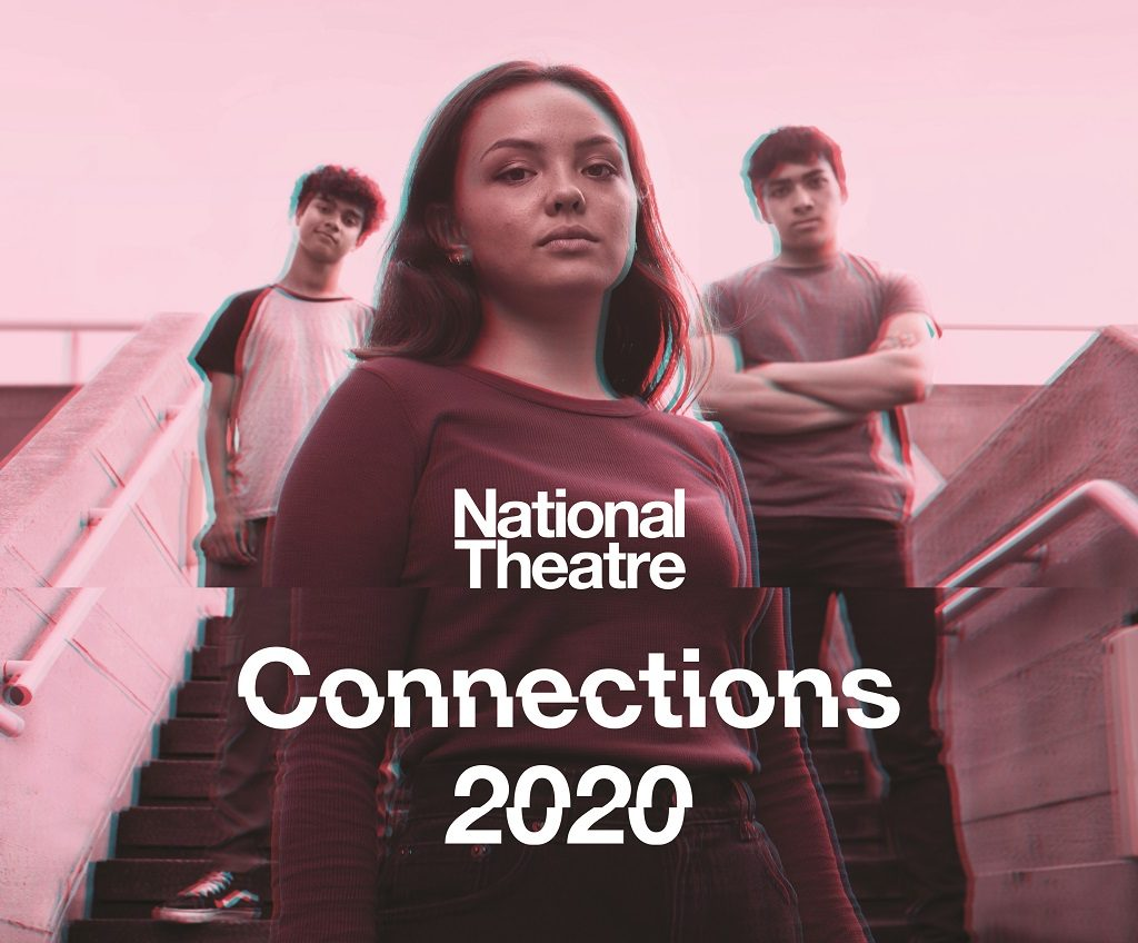 official NT connections image with a young woman standing in front of two young guys