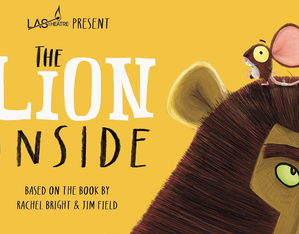 Promotional image for The Lion inside.
