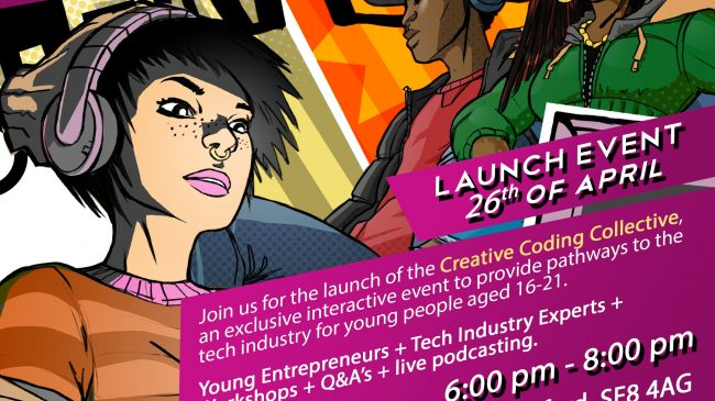 The Creative Coding Collective Launch
