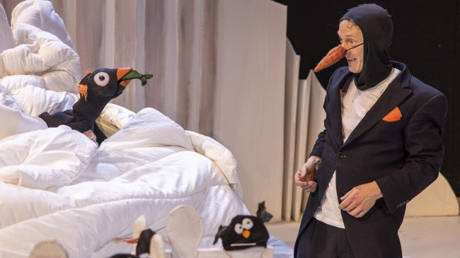 The Man Who Wanted to be a Penguin
