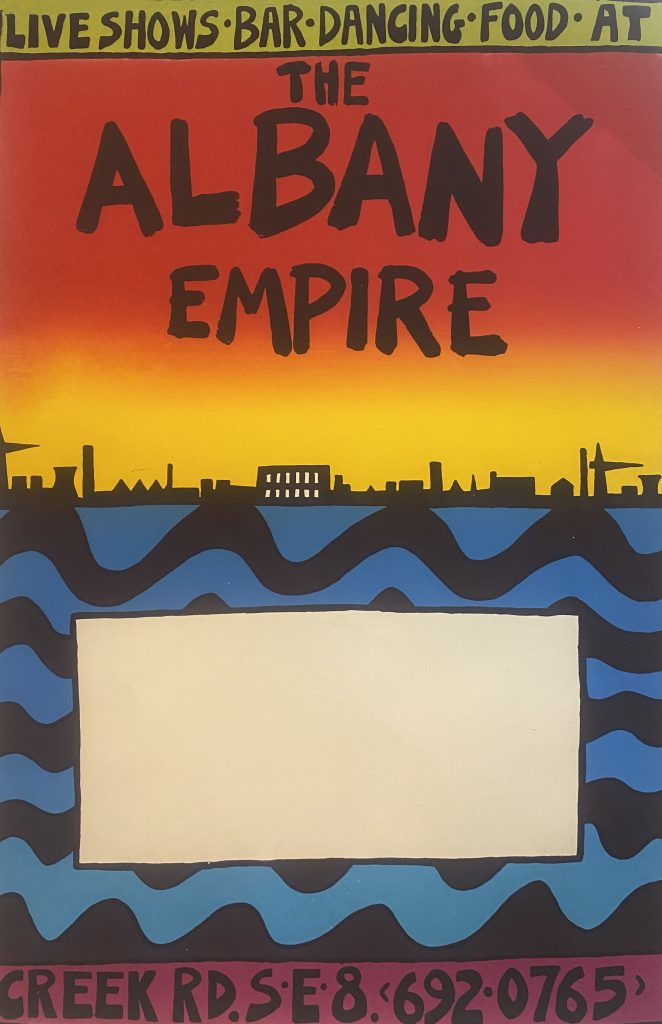 Albany vintage poster 2