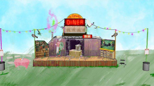 Summer in the Garden: The Rascally Diner!